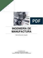 Ingenieria de Manufactura 15-05-2015