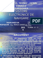 Prezentare PPT - Sisteme de navigatie