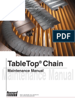 Manual de Mantenimiento de cadenas Table Top