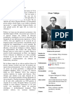 César Vallejo - Wikipedia, La Enciclopedia Libre