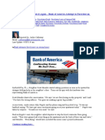 Trashed Out – BOA Does it Again – Bank of America Attempt to Foreclose on Wrong Home Averted