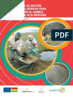 TECNOLOGÍAS de GESTIÓN de Recursos Hídricos en Alta Montaña