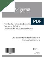 Admin Financiera - Tapia