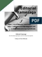 Editorial Xamezaga Indice Obras Publicadas