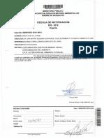 Jorge Minga - Hito II - Fiscalía Ambiental dispone iniciar la investigación