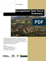 2010-11 CU turf task force summary and recommendations