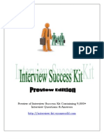 Interview Success Kit