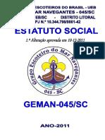 Estatuto Do Geman-045 Sc-1.ª Alteração-registrado