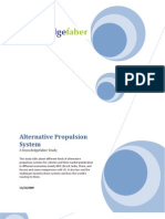 Alternative Propulsion Systems Study
