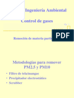 Clase 3 - IWQ 364 Remocion de MP - 2