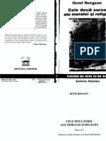 Henri Bergson - Cele doua surse ale moralei si relgiei.pdf