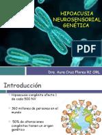 Hipoacusia Neurosensorial Genética