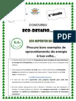 Cartaz Eco Desafio4