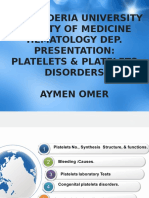 Platelets & Platelets Disorders.pptx
