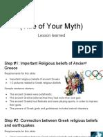 model for students myth google slides  - karam mayuma