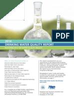 PHILADELPHIA 2014 DRINKING WATER QUALITY REPORT