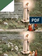 Profecias de Maria en Fatima