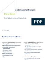 Deloitte Ireland Life Sciences Conference 2014 Slides