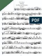 Andante Mozart Flute Part