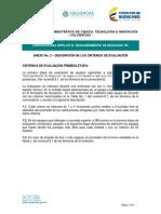 Anexo 2 - Descripcion Criterios de Evaluacion IX