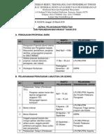 Lampiran Surat Jadwal Pelaksanaan Penelitian