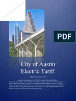 Fy 2016 Electric Rate Schedule