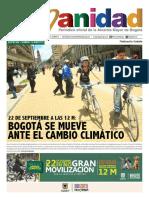 Periódico Humanidad Edición No. 54_Especial Cambio Climático