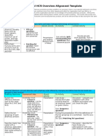 commercial hcr overview alignment template