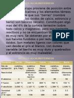 METALES ALCALINOTERREOS