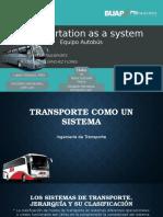 Transportation as a System