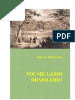 VOCABULARIO BRASILEIRO