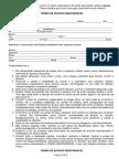 Termo de Adoção Responsável (modelo)