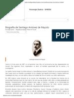 Personajes Ilustres _ Biografía de Santiago Antúnez de Mayolo _ Universidad Nacional Mayor de San Marcos _ UNMSM