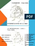 La Metamorfosis Interpretaciones ULTIMO