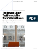The Harvard Library That Protects The World's Rarest Colors | Co.Design | business + design