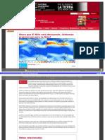 La Nina Que Esperar Clima HTML