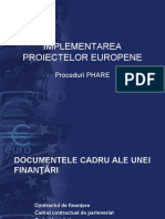 implementarea proiectelor
