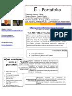 Evaluación Del Aprendizaje a Distancia - Unidad 4- E-portafolio