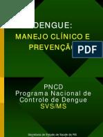 Dengue Manejo Clinico e Prevencao