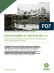 Una Economía Al Servicio Del 1% - OXFAM International 2016