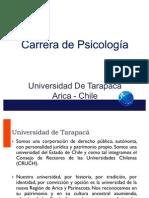 presentación carrera PSICOLOGÍA UTA