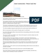 Breakdown slows school construction - Moose Lake Star Gazette