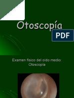 Otoscopía