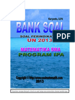 Soal Per Indikator UN 2014 SMA IPA