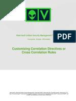 AlienVault Correlation Customization