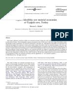 Kuhn 2004, Upper Paleolithic Raw Material Economies at Ucazi