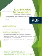 Diapositivas Manejo de Cuencas