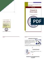 Manual de Bienvenida - Colegio