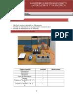 Amperimetros y Voltimetros