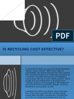 Is Recycling Cost Effective